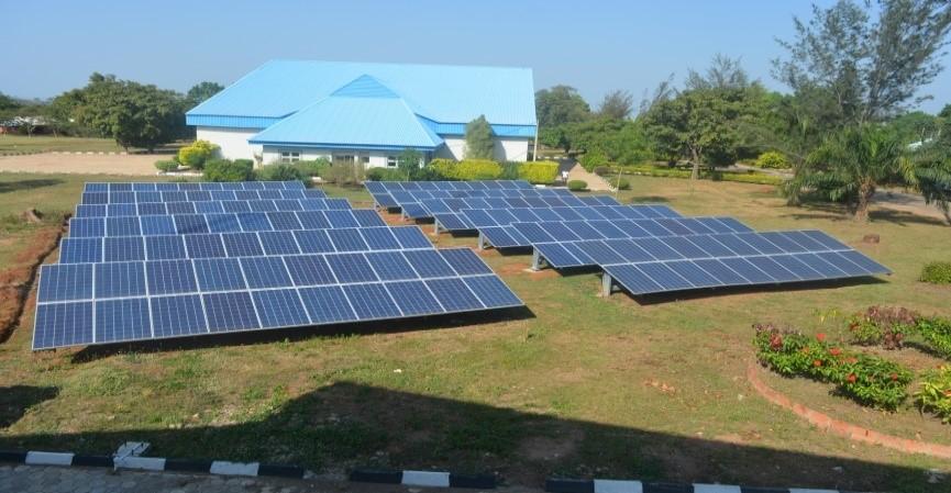 Thomas Adewumi Int'l College Solar Power project